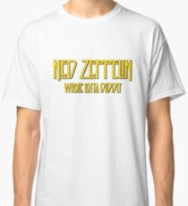 Ned Zeppelin - Whole Lotta Diddly (Simpsons) Classic T-Shirt
