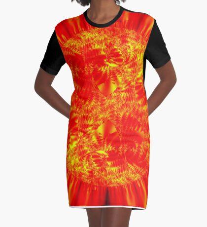 Sol II Graphic T-Shirt Dress