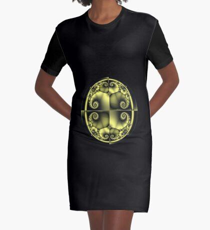 spheric I Graphic T-Shirt Dress