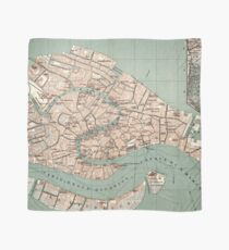 Map of Venice - 1886 Scarf