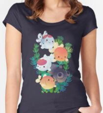 Goldfish Group Women's Fitted Scoop T-Shirt