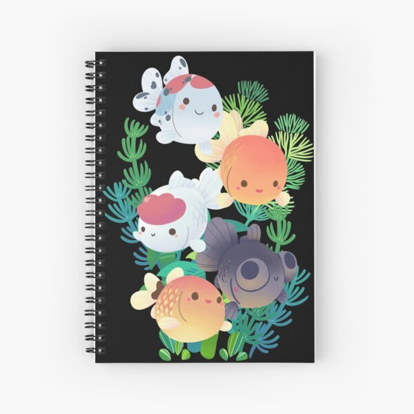Goldfish Group Spiral Notebook