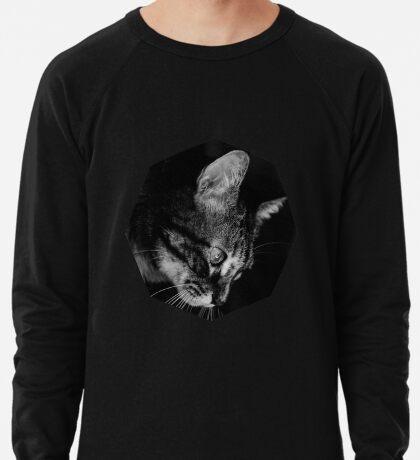 Kätzchen in Schwarz und Weiß Leichter Pullover
