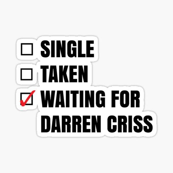 En attente de Darren Sticker Sticker