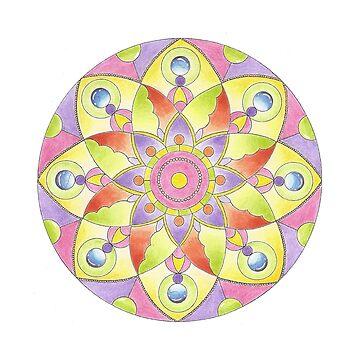 Mandala 1 by yayamerino