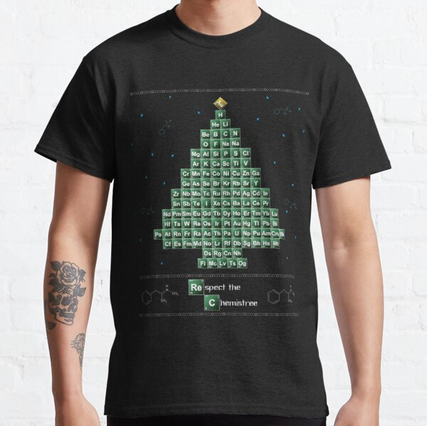 Breaking Bad Chemistree Ugly Christmas Sweater Classic T-Shirt