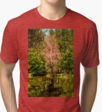 Autumn tree colorful Tri-blend T-Shirt