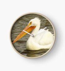 The American White Pelican Clock