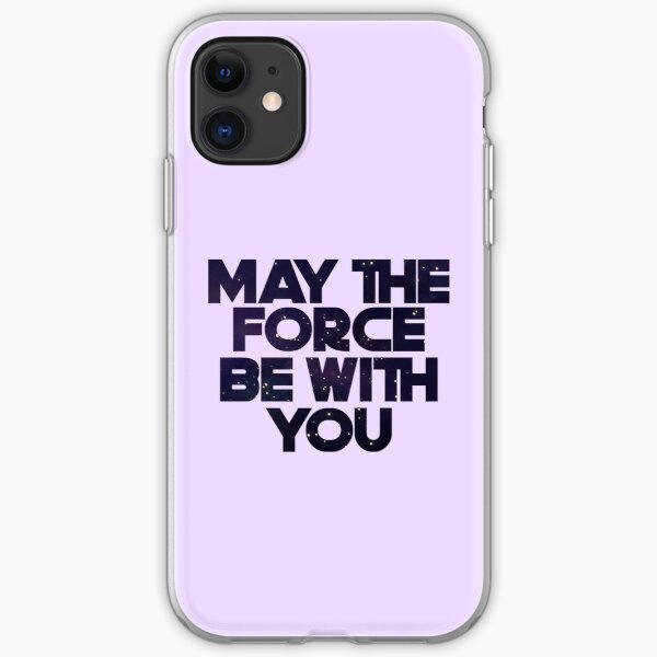 May the Force iPhone Soft Case
