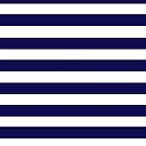 Navy Stripes by UzStore