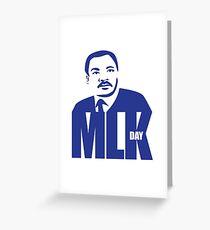 Dr. Martin Luther King Jr. Day portrait design. Greeting Card
