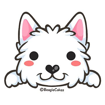 Cute Westie Puppy  by beaglecakes