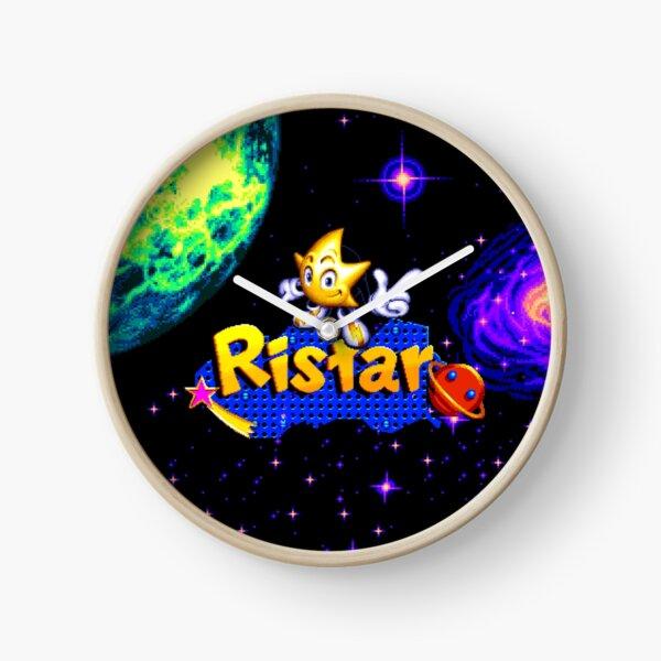 Ristar (Genesis Title Screen) Clock