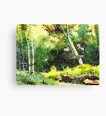 Relax Here 2 Canvas Print