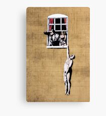 Banksy - Park Street Indiscretion Canvas Print