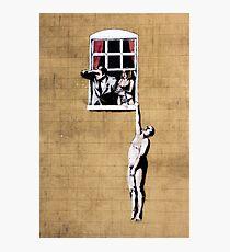 Banksy - Park Street Indiscretion Photographic Print