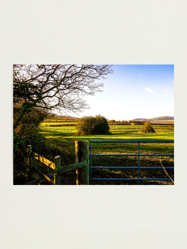Alternate view of Cotswold Landscape Photographic Print
