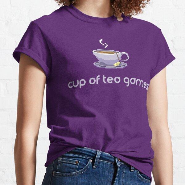 Cup of Tea Games Official T Shirt - DESIGN #1 Classic T-Shirt