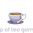 Cup of Tea Games Official T Shirt - DESIGN #1 by CupofTeaGames