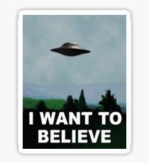 Die X-Dateien - Ich möchte es glauben Sticker