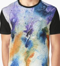 Minimalist Abstract ink Painting Graphic T-Shirt