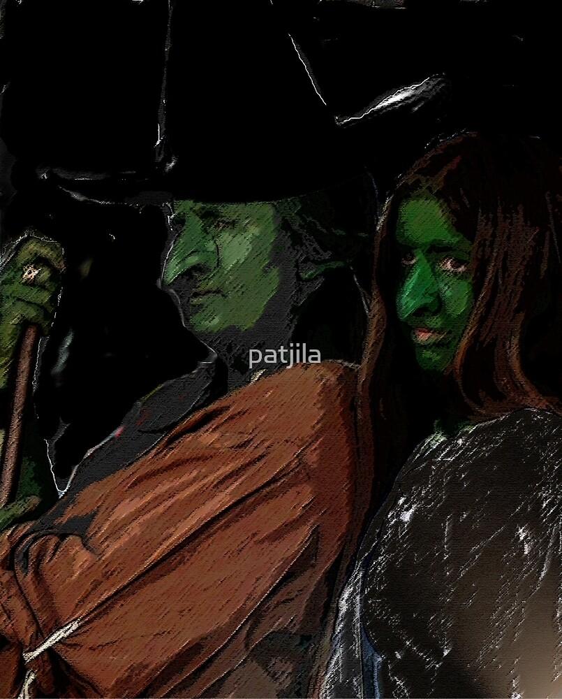Apprentice and tutor Witch Hazel by patjila
