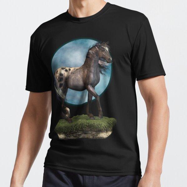 Storm .. an appaloosa stallion Active T-Shirt