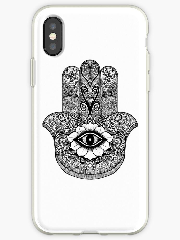 coque iphone xr oeil de fatima