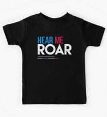 Hear Me Roar (Women's Rights Are Human Rights) Kids Clothes