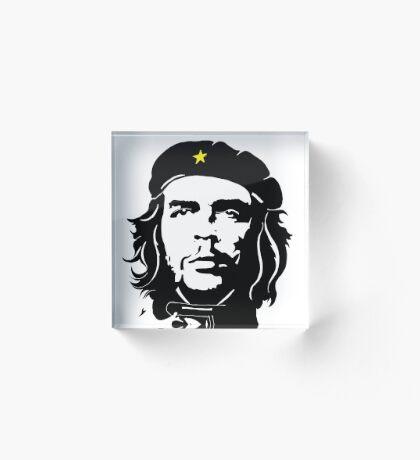 Che Guevara in star beret Acrylic Block