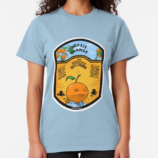 Oopsie Orange - The Messy Mandarin Classic T-Shirt