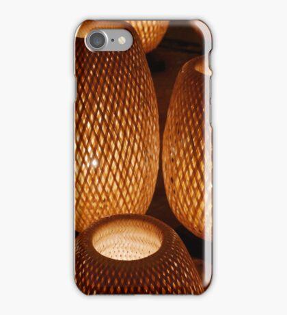 Wicker Lamps.  iPhone Case/Skin