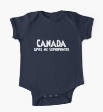Canada Superpowers T-shirt Kids Clothes