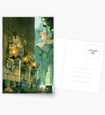Ancient Fountains Postcards
