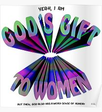 God's Gift to Women Poster