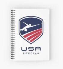 US Fencing Spiral Notebook