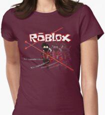 Roblox Lazer Ninja Womens Fitted T-Shirt