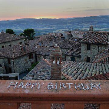 Happy Birthday Umbria by Langie
