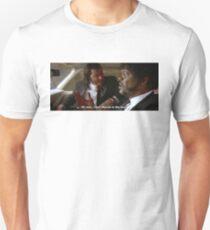 Camiseta unisex Oh, hombre, disparé a Marvin en la cara (Pulp Fiction)