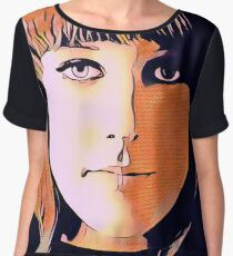 Psychedelic Rock Chiffon Top