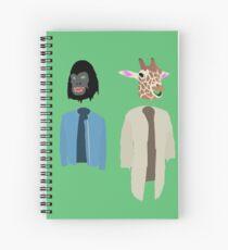 Dirk Gently Vector Spiral Notebook