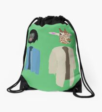 Dirk Gently Vector Drawstring Bag