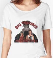"""Big Trouble"" Women's Relaxed Fit T-Shirt"