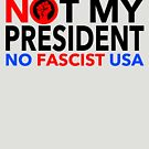 NO FASCIST USA - Not my President by Thelittlelord