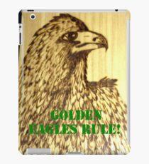 Golden Eagles Rule! iPad Case/Skin