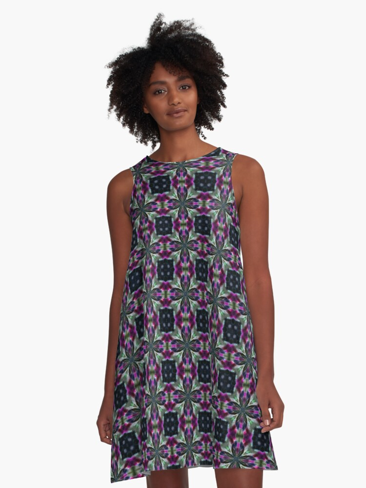 Whitney A-Line Dress Front