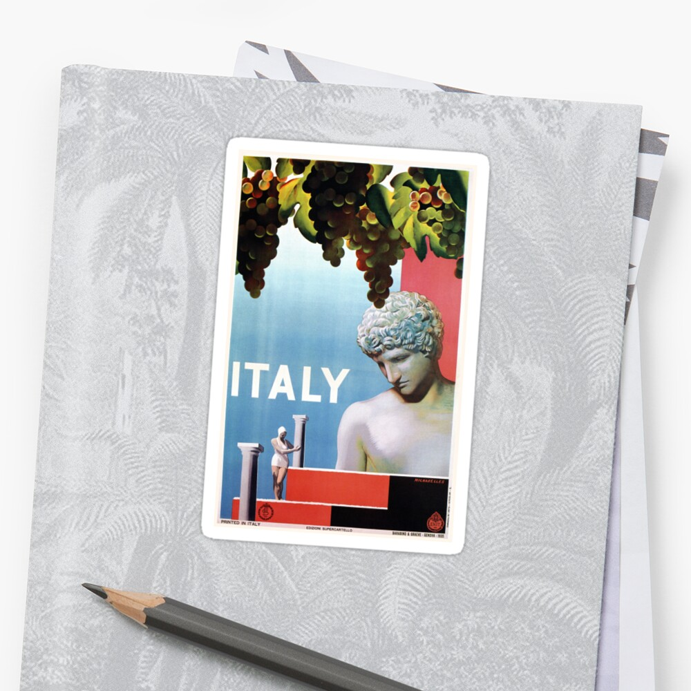 Vintage 1930s Italy Italian travel by aapshop