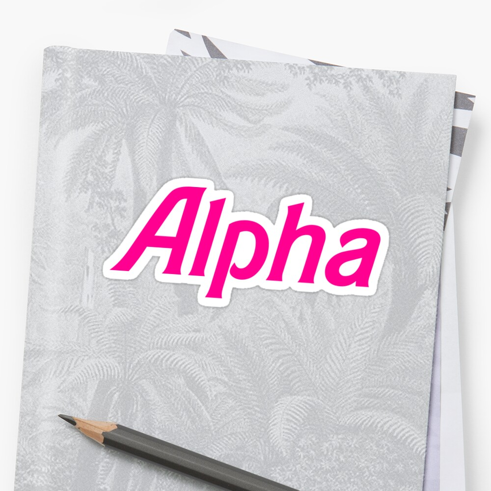 Alpha by johannabaker