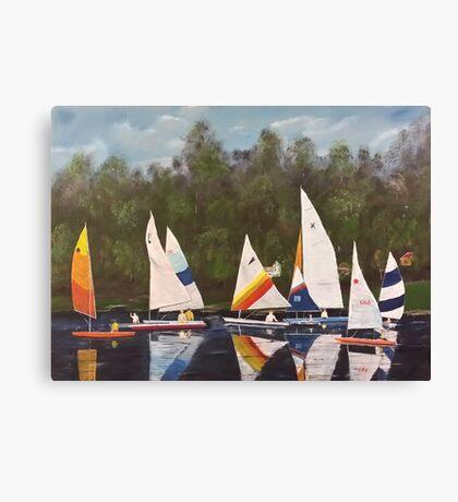 Myrick - Timberlake Sail Boats Canvas Print