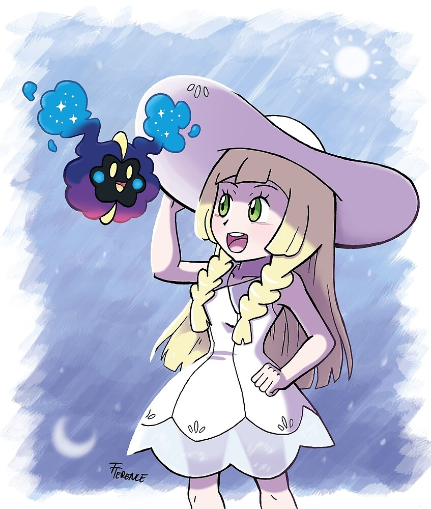 Lillie and Nebby by TheTerence